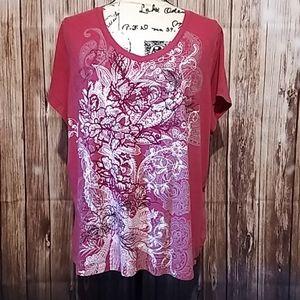 Sonoma pink fashion tee